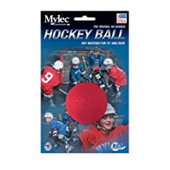 Buy Mylec Hot Weather Hockey Balls, (Pack of 6) RED by Mylec