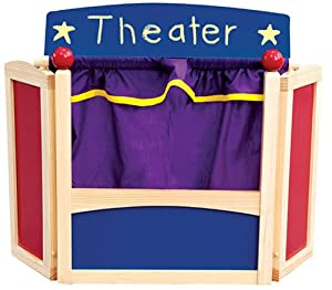 Guidecraft Center Stage Tabletop Puppet Theater from Guidecraft