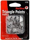 Red Devil 1722 Glazing Triangle Points