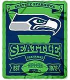 Seattle Seahawks 50x60 Marque Design Fleece Blanket