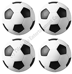 PlayCity 36 mm Foosball Balls , Soccer Table Balls , Football Table Balls - 4 Pcs (Set of 4)