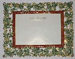 ARGENTO SC SWAROVSKI Crystal Picture Frame 3x5&quot; H