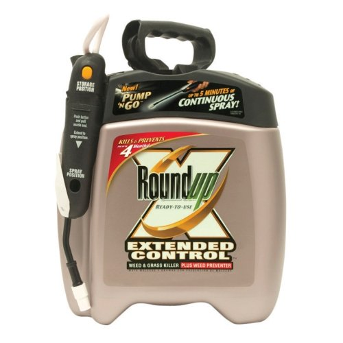 Roundup 5725010 1.33-Gallon Extended Control Weed & Grass Killer Plus Weed Preventer Pump 'N Go
