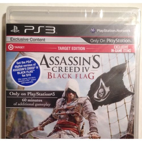 Assassin's Creed 4: Black Flag - Target Edition (PS3)