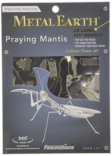 Fascinations Metal Earth 3D Metal Model Kits, Praying Mantis - 1