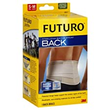 Futuro Stabilizing Back Support, Moderate Stabilizing Support, Small - Medium 1 brace