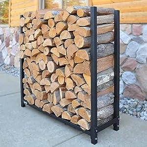 Amazon WoodEze Expandable Firewood Rack Outdoor