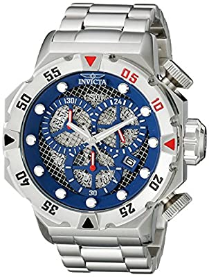 Invicta Men's 19181 I-Force Analog Display Japanese Quartz Silver Watch