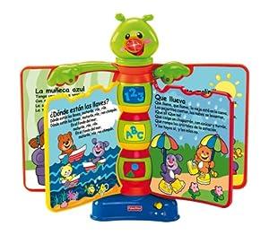 Mattel - Libro Aprendizaje Interactivo Fisher Price 21-8173H