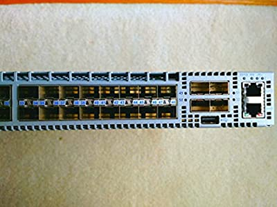 Arista Networks - DCS-7050S-52-R-DC - Arista Networks 7050S-52 Layer 3 Switch - Manageable - 52 x Expansion Slots - 10GBase-X - Desktop