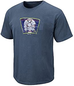 Majestic Minnesota Twins Pigment Dyed Blue Cooperstown Shirt by Majestic