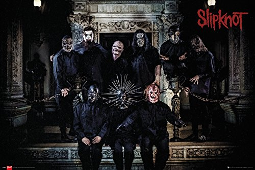 GB eye LTD, Slipknot, Band Line Up, Maxi Poster, 61 x 91,5 cm