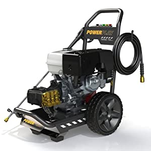 Powerplay Corporation TR342HX41ARTLQC Terrex Honda GX390 4000 PSI Annovi Reverberi Triplex Pump Gas Pressure Washer, 4.1 GPM