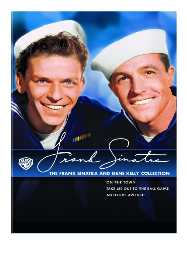 Cover art for  The Frank Sinatra and Gene Kelly Collection (On the Town / Anchors Aweigh / Take Me out to the Ball Game)