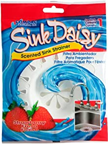 Compac Sink Daisy - Strawberry (Pack Of 144)