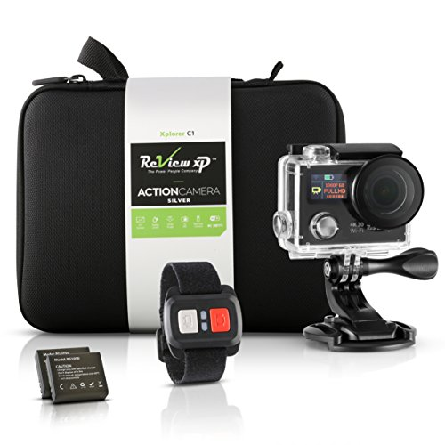 Review-XP-4K-HD-Wi-Fi-Waterproof-Action-Camera-16MP-SONY-Sensor-30fps-Sports-Video-Underwater-Camcorder-170-Wide-Angle-Dual-Screen-2-Batteries-Accessories-Kit-Carrying-Case-Remote-Control-Black