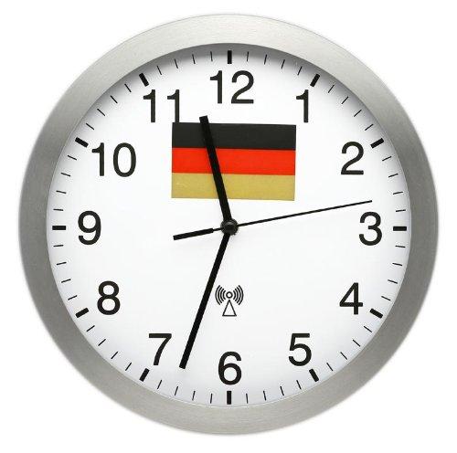 Funk-Wanduhr Deutschlanduhr WM-Wanduhr online kaufen