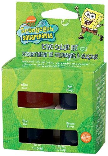 Wilton SpongeBob Square Pants Icing Color Set