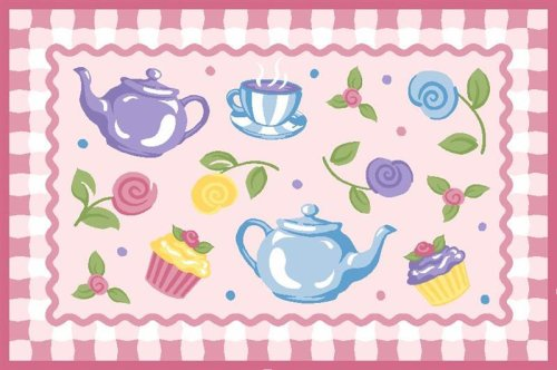 Tea Party Rug OLIVE KIDS 39 x 58 Area Rug