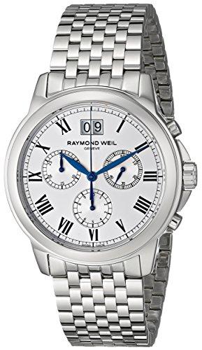 Raymond Weil 4476-ST-00650 42mm Steel Bracelet & Case Anti-Reflective Sapphire Men's Watch