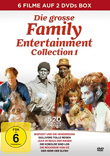 Die große Family Entertainment Collection 1 [2 DVDs]