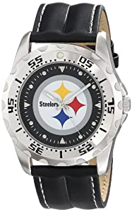 Game Time Unisex NFL-WWS-PIT Wallet and Pittsburgh Steelers NHL Watch Set by Game Time