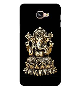 Ganesh Ji 2D Hard Polycarbonate Designer Back Case Cover for Samsung Galaxy A8 :: Samsung Galaxy A9 (2016) Duos with dual-SIM card slot