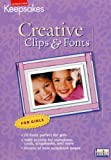 CD Clips & Fonts Girls