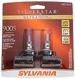 Sylvania 9005 SU SilverStar Ultra Halogen Replacement Bulb (High Beam), (Pack of 2)