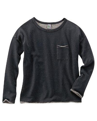 HempAge Hanf Pullover Mandy - Farbe black Größe S
