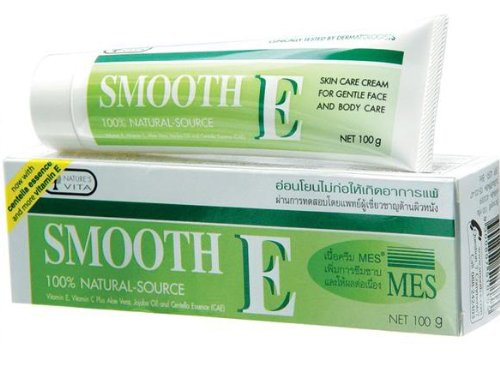2X Smooth E Scars Cream With Aloe Vera Vitamin E 100G Best Price From Thailand