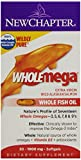 New Chapter Wholemega Whole Fish Oil, 30 Softgels