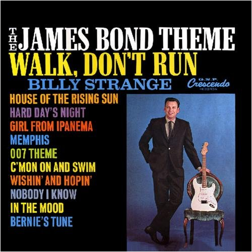 Original album cover of The James Bond Theme / Walk, Don't Run, '64 by James Bond themes