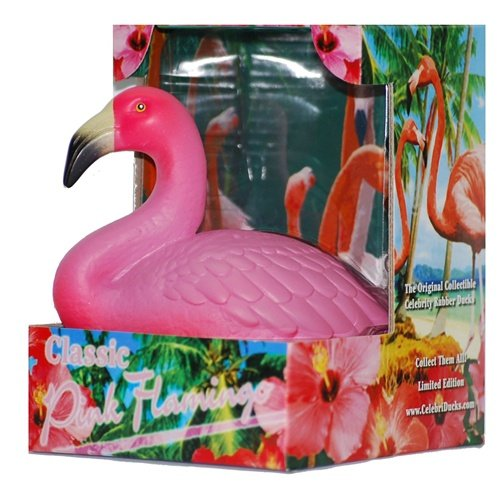 Pink Flamingo Celebriducks Rubber Duck