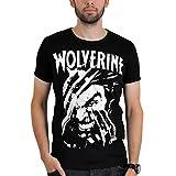 Logoshirt - Marvel Wolverine T-Shirt, black, Größe:L