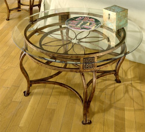 Scottsdale Cocktail Table – Brown Rust