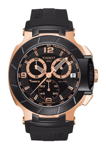 Tissot Men's T048.417.27.057.06 T-Sport Rose-Gold