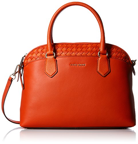 Cole Haan Luella Satchel, Citrus Red (Cole Haan Women Handbag compare prices)