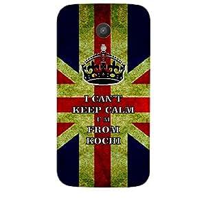 Skin4gadgets I CAN'T KEEP CALM I'm FROM KOCHI - Colour - UK Flag Phone Skin for MOTOROLA MOTO G 1ST G