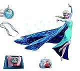 Frozen Elsa 5 Piece Deluxe Wall Sticker Set