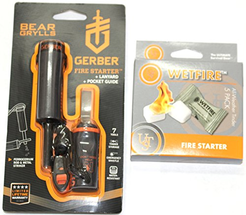Gerber-Bear-Grylls-Fire-Starter-with-Ultimate-Survival-WetFire-Tinder-5-Pack