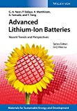 img - for Advanced Lithium-Ion Batteries: Recent Trends and Perspectives (New Materials for Sustainable Energy and Development) book / textbook / text book