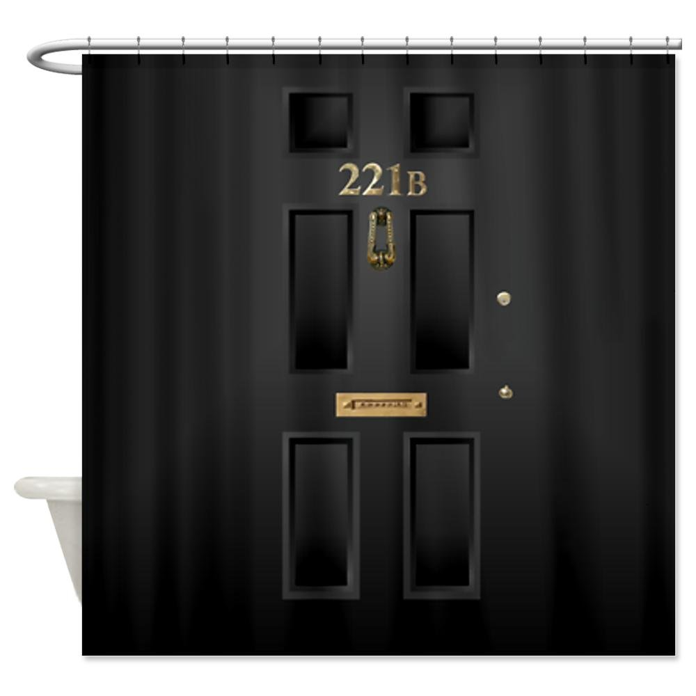 221B Baker Street Shower Curtain