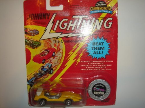 1996 Johnny Lightning The Challengers Limited Edition Custom Spoiler Yellow