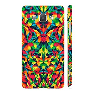 Enthopia Designer Hardshell Case Abstract Forest Back Cover for Samsung Galaxy A8
