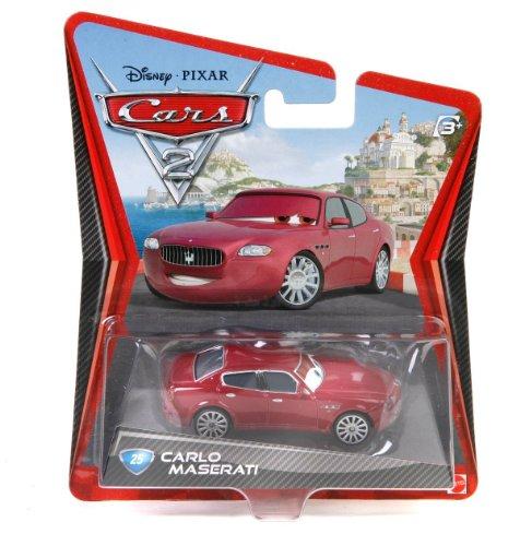 Disney / Pixar CARS 2 Movie 155 Die Cast Car Maserati - 1