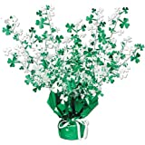 Shamrock Gleam 'N Burst Centerpiece Party Accessory (1 count) (1/Pkg)