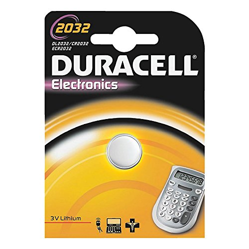 "DURACELL Lot de 5 piles bouton lithium ""Electronics"" CR2032"