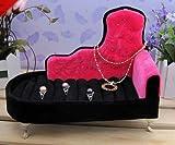 ソファー アクセサリー 収納 ピンク ケース ピアス ネックレス 指輪 収納 リビング ディスプレイ アンクレット ブレスレット ジュエリー