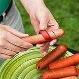 Schoolsupplies 2pcs Manual Fancy Sausage Cutter Spiral Hot Dog Cutter Slicer kitchen gadget BBQ Tool